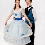 Sage Ashley as Clara, Isaac Allen as The Prince. Nutcracker 2011